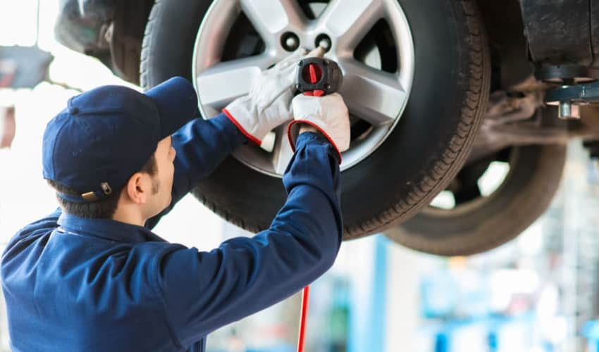 tyre replacement service